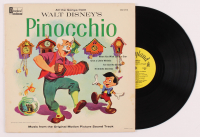 "Vintage 1959 Walt Disney's ""Pinocchio"" Vinyl LP Record Album at PristineAuction.com"