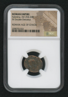 Certified Roman Coin of Empress Salonina AD 254-268 BI Double-Denarius - Roman Age of Chaos (NGC Encapsulated) at PristineAuction.com
