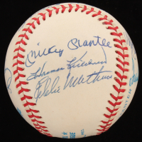 500 Home Run Club OAL Baseball Signed by (11) With Ted Williams, Mickey Mantle, Eddie Mathews, Reggie Jackson, Frank Robinson (JSA LOA) at PristineAuction.com