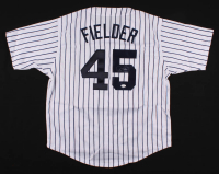 Cecil Fielder Signed Jersey (JSA COA) at PristineAuction.com