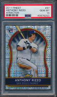 2011 Finest X-Fractors #97 Anthony Rizzo (PSA 10) at PristineAuction.com