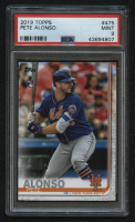2019 Topps #475 Pete Alonso RC (PSA 9) at PristineAuction.com