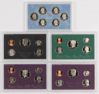 Lot of (5) United States Mint Proof Sets with 1983-S, 1985-S, 1992-S, 1994-S, & 2009-S at PristineAuction.com