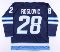 Jack Roslovic Signed Jersey (Beckett COA) at PristineAuction.com