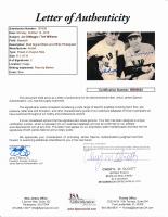 Joe DiMaggio & Ted Williams Signed 8x10 Photo (JSA LOA) at PristineAuction.com