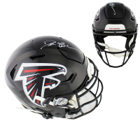 Deion Sanders Signed Atlanta Falcons Full-Size Authentic On-Field SpeedFlex Helmet (Radtke COA) at PristineAuction.com