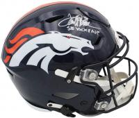 "Terrell Davis Signed Broncos Full-Size Authentic On-Field SpeedFlex Helmet Inscribed ""SB XXXII MVP"" (Radtke COA) at PristineAuction.com"