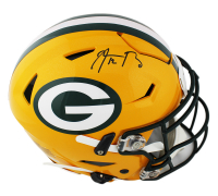 Aaron Rodgers Signed Green Bay Packers Full-Size Authentic On-Field SpeedFlex Helmet (Radtke COA) at PristineAuction.com
