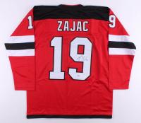 Travis Zajac Signed Jersey (Beckett COA) at PristineAuction.com