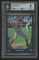 2011 Bowman Chrome Draft Refractors #101 Mike Trout RC (BGS 9) at PristineAuction.com