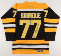 """Ray Bourque Signed Boston Bruins Captain Jersey Inscribed """"HOF 04."""" (MAB Hologram) at PristineAuction.com"""