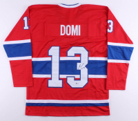 Max Domi Signed Jersey (Beckett COA) at PristineAuction.com