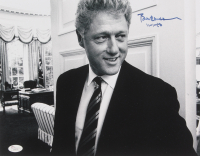 "Bill Clinton Signed 11x14 Photo Inscribed ""11-1-16"" (JSA LOA) at PristineAuction.com"