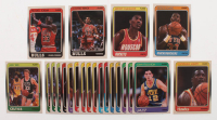 Lot of (22) 1988-89 Fleer Basketball Cards with #17 Michael Jordan, #20 Scottie Pippen RC, #53 Hakeem Olajuwon, #9 Larry Bird, #5 Dominique Wilkins, #80 Patrick Ewing at PristineAuction.com