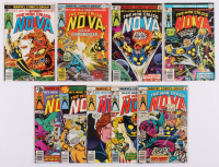 "Lot of (9) 1976-79 ""The Man Called Nova"" #1-25 Marvel Comic Books at PristineAuction.com"