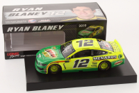 Ryan Blaney Signed 2019 NASCAR #12 Menards Libman - 1:24 Premium Action Diecast Car (PA COA) at PristineAuction.com