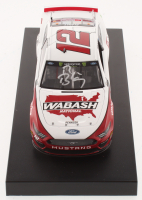 Ryan Blaney Signed NASCAR #12 Wabash National 2019 Mustang - 1:24 Premium Action Diecast Car (PA COA) at PristineAuction.com