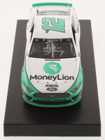 Ryan Blaney Signed NASCAR #12 MoneyLion 2019 Mustang - 1:24 Premium Action Diecast Car (PA COA) at PristineAuction.com