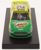Ryan Blaney Signed NASCAR #12 Menards Libman 2019 Mustang - Color Chrome - 1:24 Premium Action Diecast Car (PA COA) at PristineAuction.com