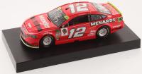 Ryan Blaney Signed NASCAR #12 Wrangler 2018 Fusion - 1:24 Premium Action Diecast Car (PA COA) at PristineAuction.com