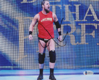 Curtis Axel Signed 8x10 WWE Photo (Beckett COA) at PristineAuction.com
