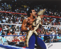 "Ricky ""The Dragon"" Steamboat Signed WWE 8x10 Photo Inscribed ""HOF 2009"" (Beckett COA) at PristineAuction.com"