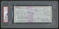 Ted Williams Signed 1975 Personal Bank Check (PSA Encapsulated) at PristineAuction.com