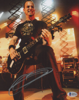 Mark Tremonti Signed Creed 8x10 Photo (Beckett COA) at PristineAuction.com