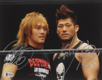 Sanada & Tetsuya Naito Signed WWE 8x10 Photo With Inscription (Beckett COA) at PristineAuction.com