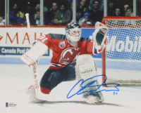 Chris Terreri Signed New Jersey Devils 8x10 Photo (Beckett COA) at PristineAuction.com