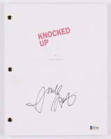 """Judd Apatow Signed """"Knocked Up"""" Movie Script (Beckett COA) at PristineAuction.com"""