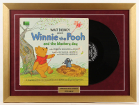 "Walt Disney's ""Winnie-The-Pooh"" 18x24 Custom Framed Vinyl Record Album Display at PristineAuction.com"