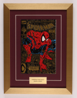 """Marvel Comics """"Spider-Man"""" Issue #1 Gold 13x17 Custom Framed Comic Book Display at PristineAuction.com"""