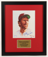 Mike Schmidt Signed Philadelphia Phillies 16x19 Custom Framed Photo Display (PSA COA) at PristineAuction.com