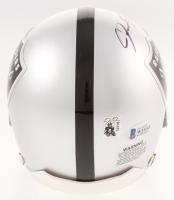 Josh Jacobs Signed Oakland Raiders Mini Helmet (Beckett COA) at PristineAuction.com