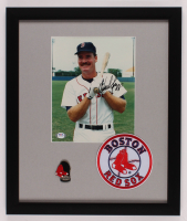Wade Boggs Signed Boston Red Sox 16x19 Custom Framed Photo Display with Pin (PSA COA) at PristineAuction.com