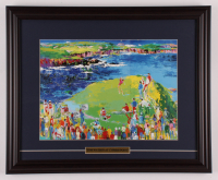 "Tom Watson ""The 16th at Cypress Point"" 17.5x21.5 Custom Framed Print Display at PristineAuction.com"