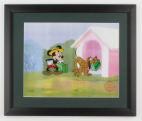 "Walt Disney's ""Mr. Mouse Takes A Trip"" 16x19 Custom Framed LE Hand-Painted Animation Serigraph Display at PristineAuction.com"