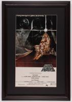 """Star Wars"" 17.5x25.5 Custom Framed Movie Poster Print Display at PristineAuction.com"