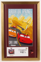 "Disneyland ""Radiator Springs Racers"" 17x26 Custom Framed Print Display with Envelope & Pin at PristineAuction.com"