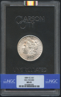 1884-CC $1 Morgan Silver Dollar (NGC MS 63) at PristineAuction.com