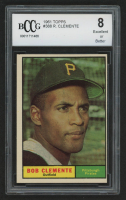 1961 Topps #388 Roberto Clemente (BCCG 8) at PristineAuction.com