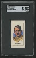 1961 Domino Cigarettes Figures Historiques #8 Adolf Hitler (SGC 8.5) at PristineAuction.com