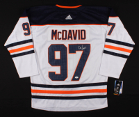 Connor McDavid Signed Edmonton Oilers Captain Jersey (JSA LOA) at PristineAuction.com