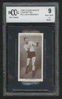 1938 Churchman's Cigarettes #12 Jack Dempsey (BCCG 9) at PristineAuction.com
