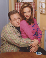 """Leah Remini Signed """"The King of Queens"""" 8x10 Photo (Beckett COA) at PristineAuction.com"""