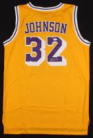 Magic Johnson Signed Los Angeles Lakers Jersey (JSA COA) at PristineAuction.com