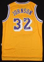 Magic Johnson Signed Los Angeles Lakers Jersey (JSA COA & PSA Hologram) at PristineAuction.com