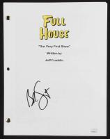 """Bob Saget Signed """"Full House"""" Pilot Episode Script (JSA COA) at PristineAuction.com"""