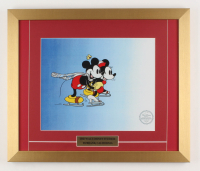 "Walt Disney's ""On Ice"" 16x19 Custom Framed LE Hand-Painted Animation Serigraph Display at PristineAuction.com"
